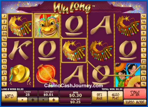Play Wu Long Online Slots at Casino.com NZ